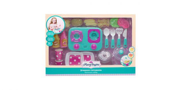 Что подарить ребёнку на новый год: набор посуды