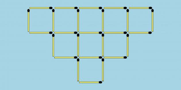 10хитрых головоломок со спичками для тренировки воображения