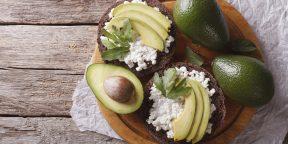 12 восхитительных бутербродов с авокадо