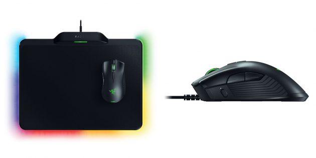 Игровой комплект Razer Mamba HyperFlux & Razer Firefly HyperFlux