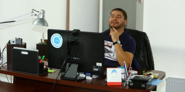 Рабочее место Фёдора Мурачковского, Planeta.ru