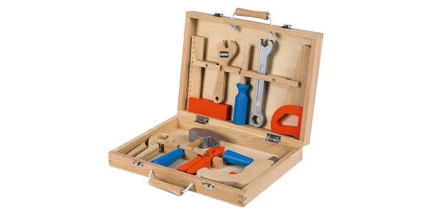 Подарки ребёнку на Новый год: деревянные инструменты