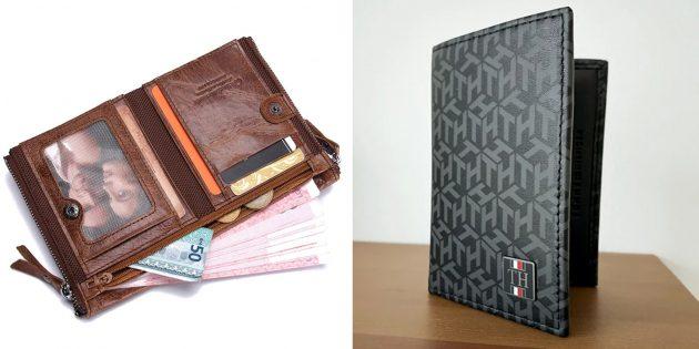 Что подарить папе на Новый год: кошелёк