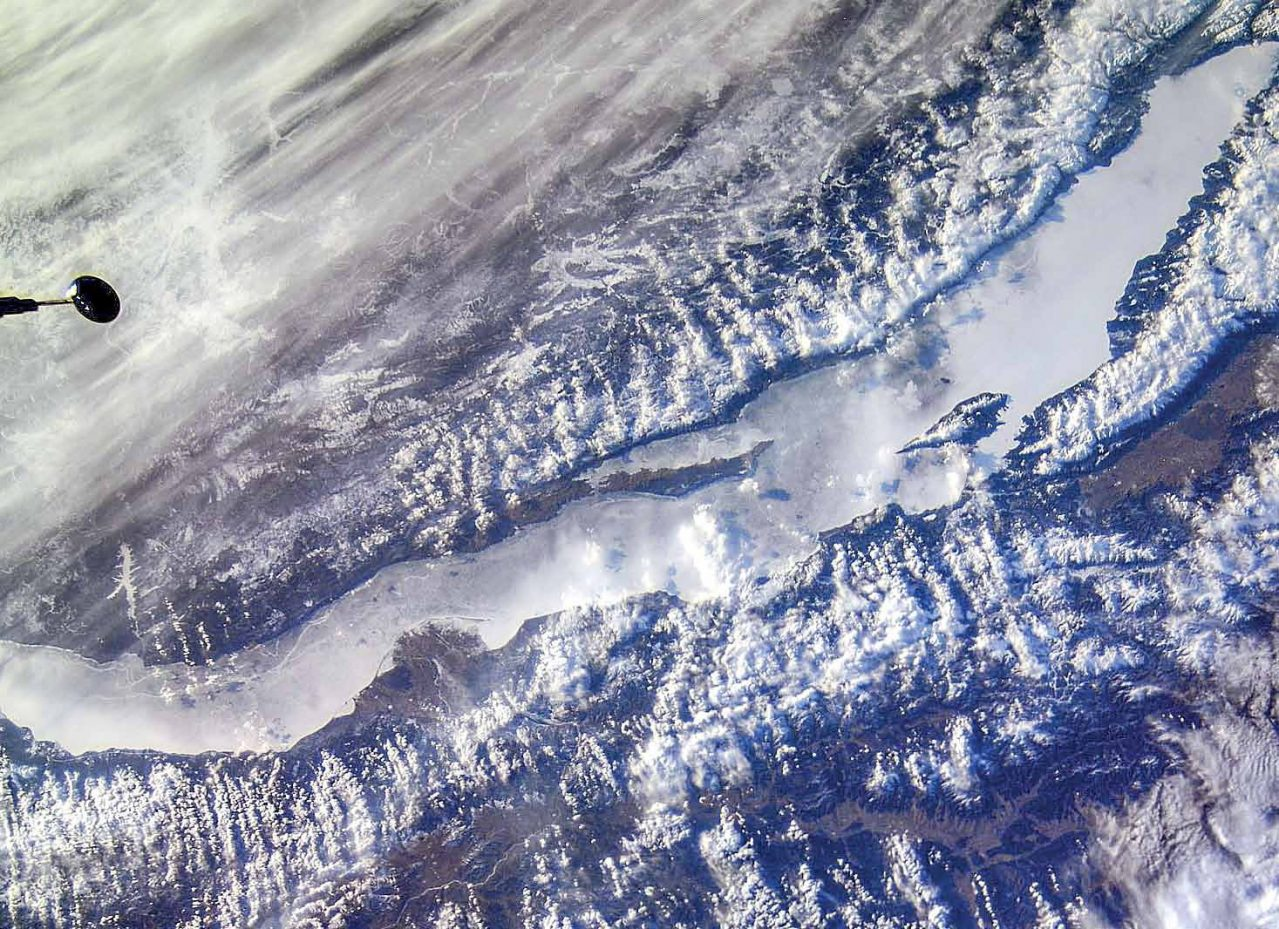 Фото Земли из космоса: Байкал