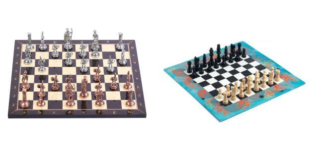 Подарки папе на Новый год: шахматы