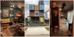 Американец построил дом своей мечты из 11 грузовых контейнеров