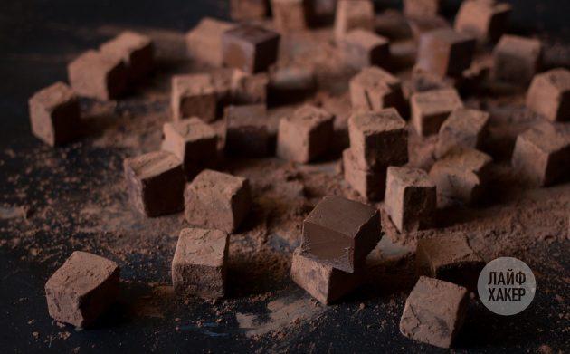 Шоколадная помадка: отправьте шоколадную помадку на хранение