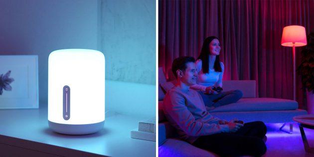 Светильники и умные лампы