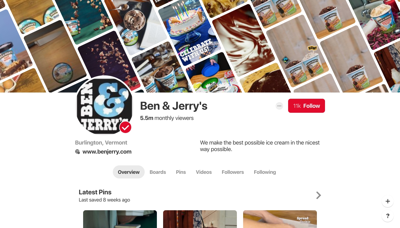 Бизнес-аккаунты на Pinterest