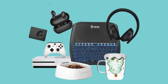 Находки AliExpress: автомобильный инвертор, наушники Xiaomi, надувные новогодние игрушки