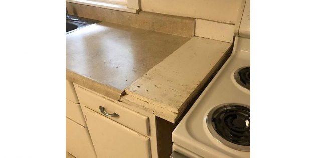 ужасные ремонтные работы
