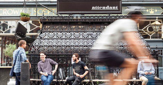 Что посмотреть в Лондоне: кофейня The Attendant
