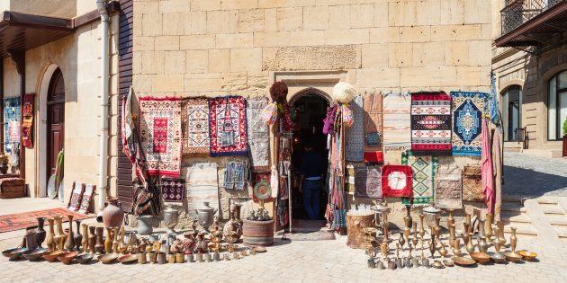 Новогодние каникулы в Баку: шопинг в столице