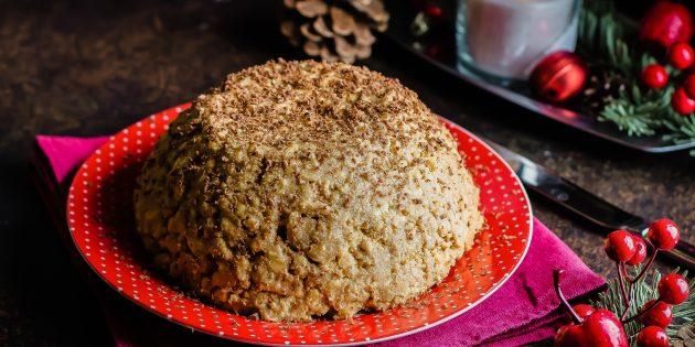 Торт «Муравейник» со сметанно-шоколадным кремом, рецепт