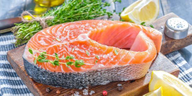 Как уменьшить стресс при помощи питания: лосось