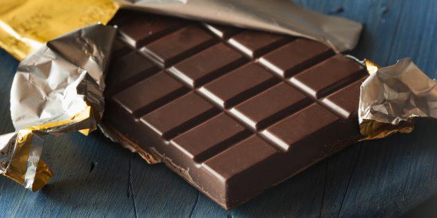 Как уменьшить стресс при помощи питания: шоколад