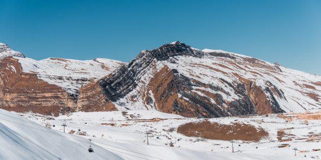 Отдых в Азербайджане зимой: потрясающие пейзажи