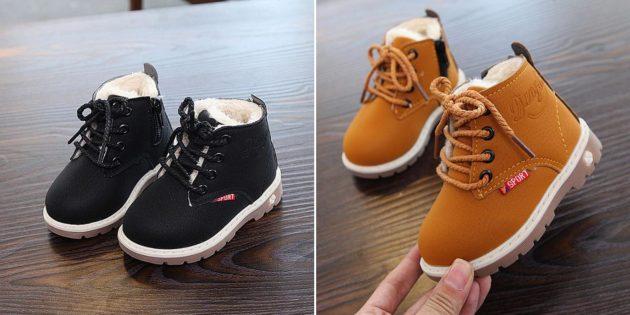 Прогулочные ботинки-тимберленды
