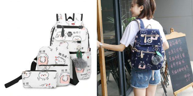 Рюкзак с полезным набором