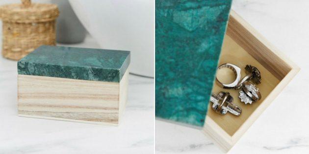Упаковка для подарков: деревянная шкатулка