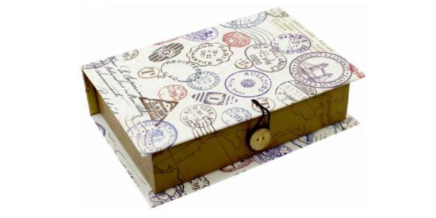 Упаковка для подарков: книга-шкатулка