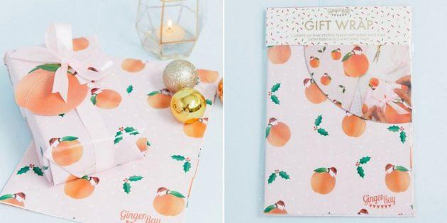 Упаковочный набор «Персики»