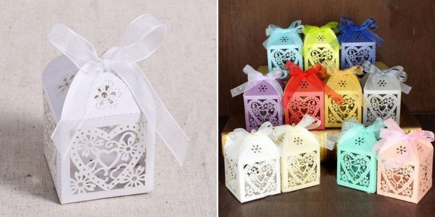 Упаковка для подарков: коробочка «Любящее сердце»