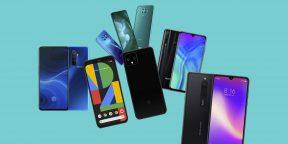 Лучшие смартфоны октября