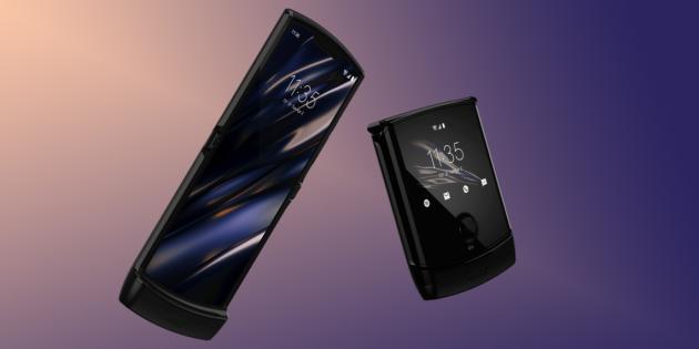 Motorola представила смартфон-раскладушку RAZR