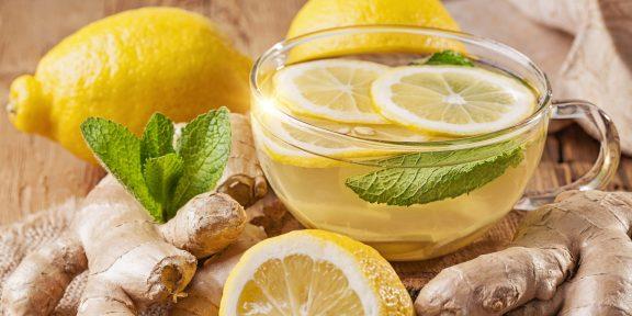 5 рецептов имбирного чая, который согреет в холодную погоду