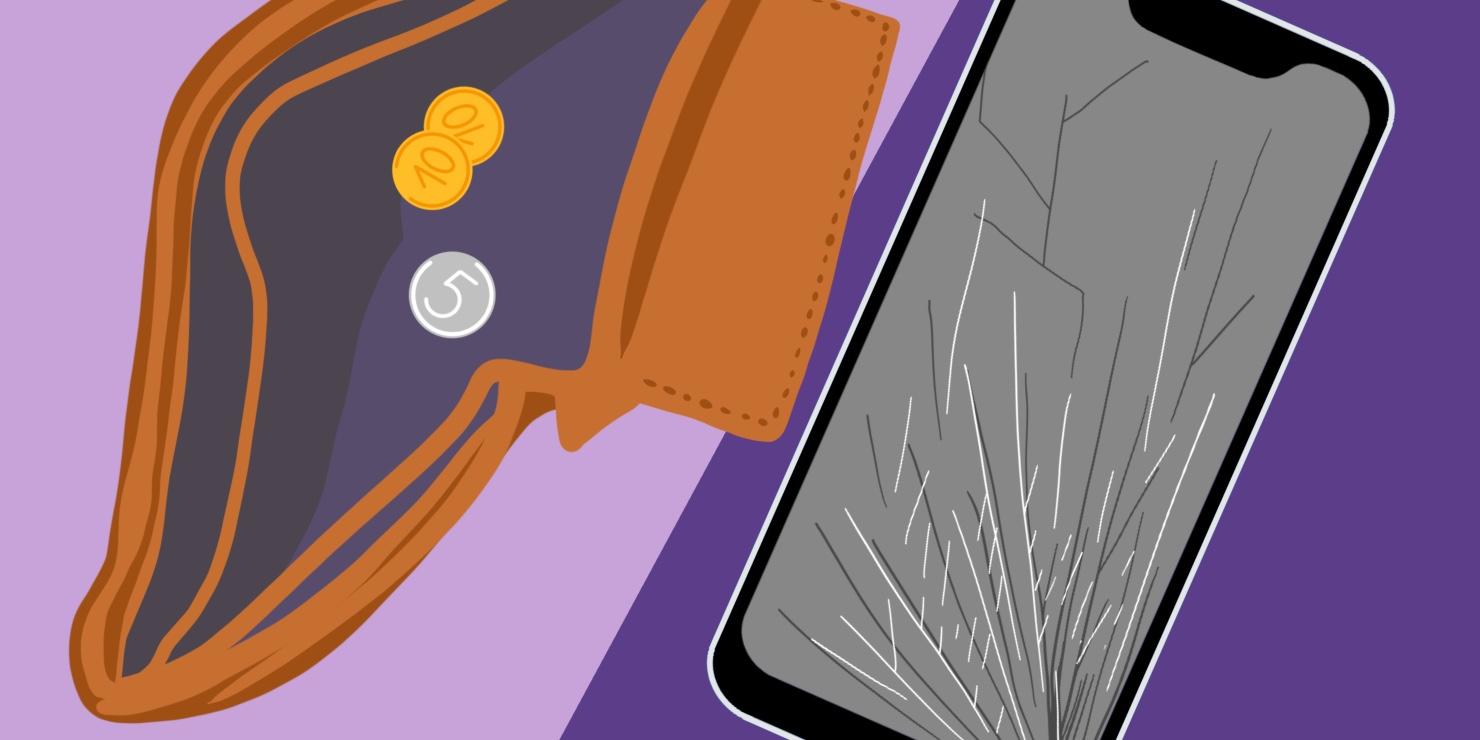 Починить бюджетный смартфон стоит недорого