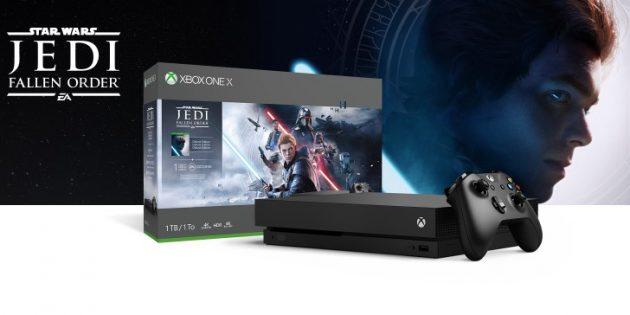 скидки на Xbox One X