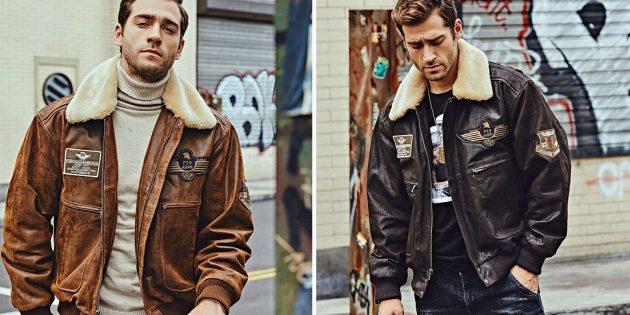 Купить мужскую зимнюю куртку можно на AliExpress