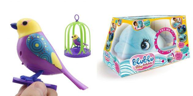 Что подарить ребёнку на Новый год: интерактивные игрушки