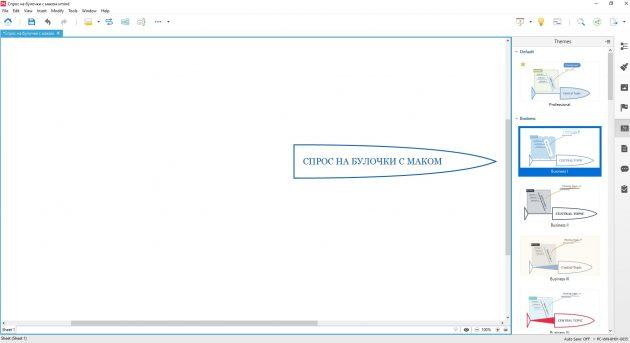 Диаграмма Исикавы: пример