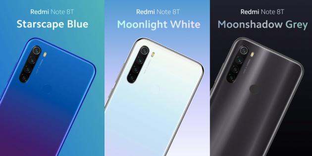 Цена дня: Redmi Note 8T с NFC за 10 149 рублей на AliExpress