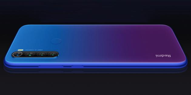 Xiaomi анонсировала бюджетный смартфон Redmi Note 8T с NFC
