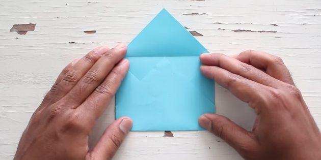 Придайте форму конверта