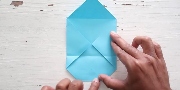 конверт своими руками: приклейте уголок