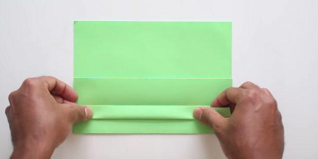 конверт своими руками без клея: сделайте полоску