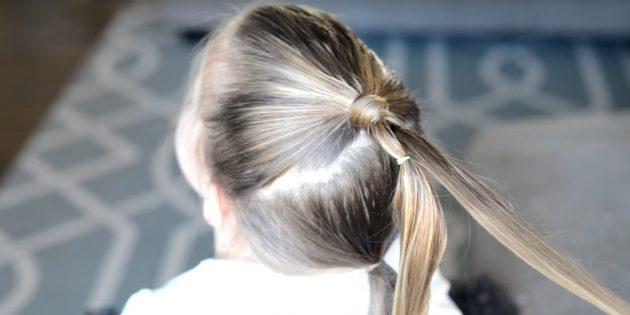 причёски для девочек на новый год: опустите прядку