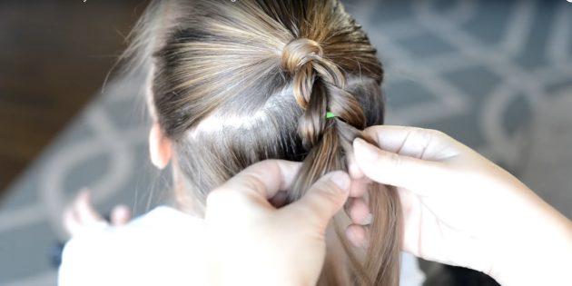 причёски для девочек на новый год: продолжите «плетение»
