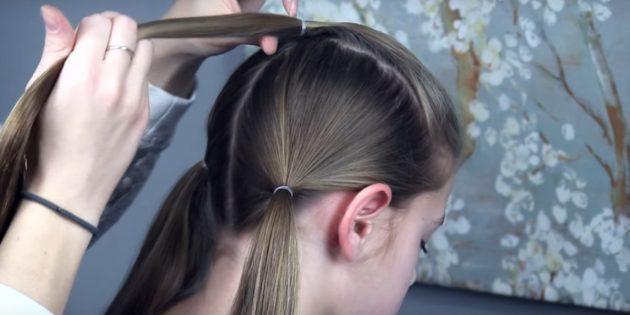 причёски для девочек на новый год: сделайте хвостики