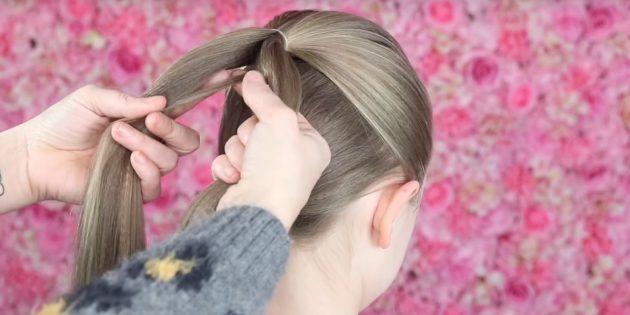 причёски для девочек на новый год: начните плести рыбий хвост