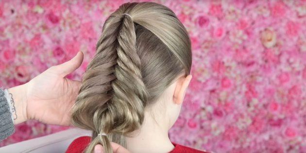 причёски для девочек на новый год: сформируйте «ёлочку»