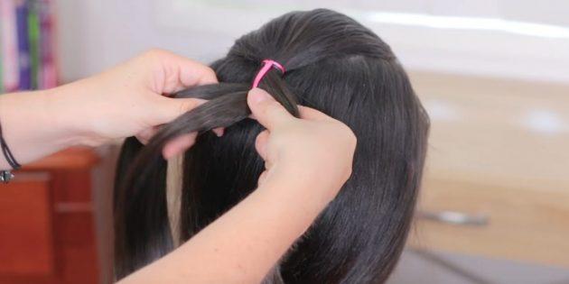 Начните заплетать косу