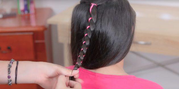 Завершите косу