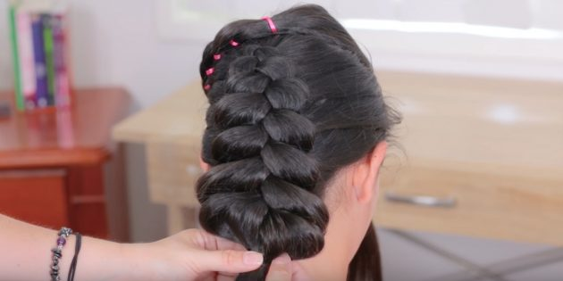 Вытяните волосы