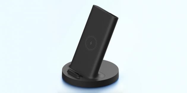 Xiaomi выпустила бюджетную подставку для беспроводной зарядки мощностью 20 Вт