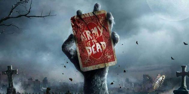 Постер фильма ужасов 2020года «Армия мертвецов»